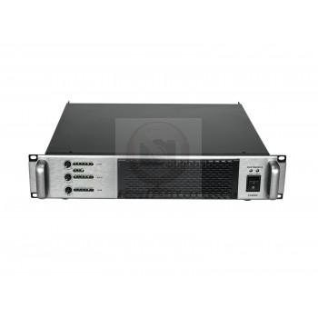 OMNITRONIC A-3603 Class-D 2.1 3-канальный усилитель PA с кроссоверной сетью - 4 Ом: 1 x 2000 Вт, 2 x 800 Вт
