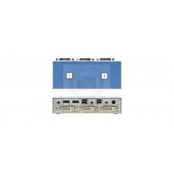 КВМ переключатель DVI-I Kramer K202B