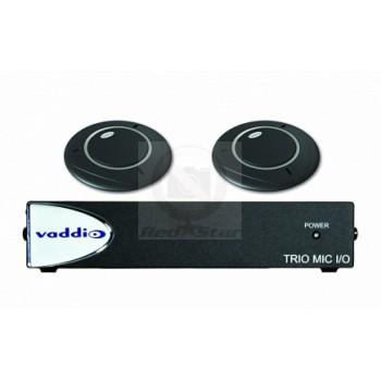 Комплект звукового оборудования Vaddio TRIO MIC I/O and Table Mic - Bundle С