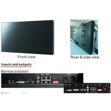"55 "" 3.5mm супер узкий ободок 500nits Samsung lg LCD видеостены W5500EU"
