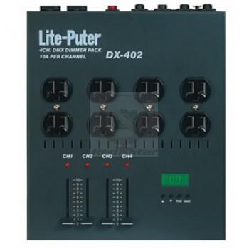 Lite-Puter DX-402A: 4 Channel DMX Dimmer Pack
