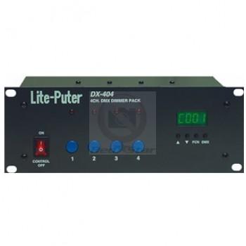 Lite-Puter DX-404: 4 Channel DMX Dimmer Pack