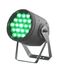 Led Par Zoom, 19×15W, RGBW (4in1), 7-60 degree, IP20, black shell