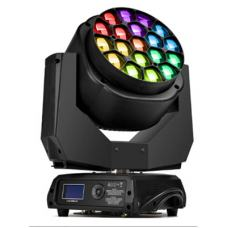 Led Moving Head Wash Zoom B-Eye 19PCSX15W RGBW (4IN1) 4-60 Degree 21CH IP20 Black Shell