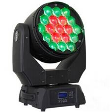 Led Moving Head Wash Zoom 19X15W 7-60 Degree RGBW(4IN1) Black Shell