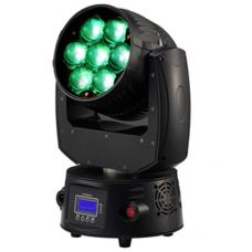 Led Moving Head Wash Zoom 7X15W 7-60 Degree RGBW(4IN1) Black Shell
