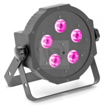 Компактный прожектор Ross Led flat PAR RGBW 5x10W RC