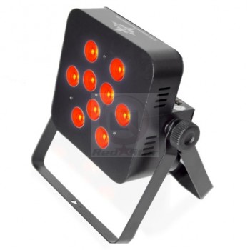 Прожектор светодиодный Ross Quad flat PAR RGBW 9x10w