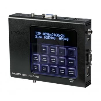 XA-4 Advanced HDMI Pattern Generator & Analyser (4K, HDCP2.2, HDMI2.0)
