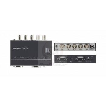 Kramer VP-102xl Преобразователь VGA в RGBHV и регулятор уровня стерео аудио