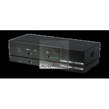 EL-41HP-4K22 4-Way Advanced HDMI Switcher (4K, HDCP2.2, HDMI2.0, IR, RS-232, IP, Web GUI)
