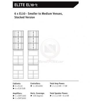 ELITE EL10-1 звукоусилительный комплект