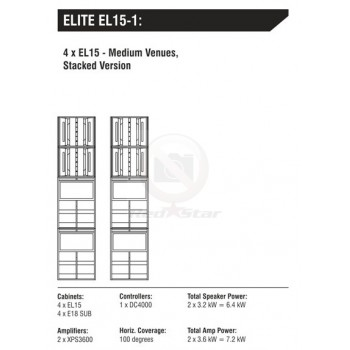 ELITE EL15-1 звукоусилительный комплект