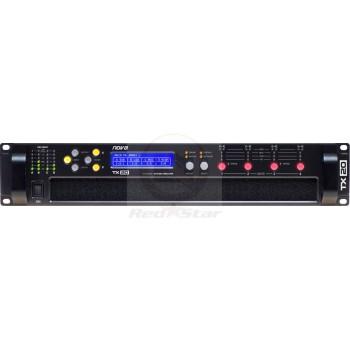 TX20 Усилитель мощности 4x5000 Вт/2Ом, class D, DSP, Ethernet